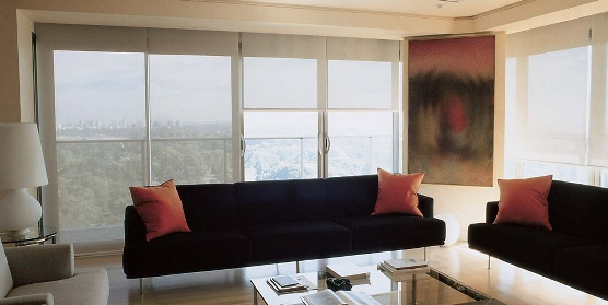 Motorized Roller Shades   Somfy,BTX, Automated Solar Shades, Tampa Fl ,ST  Petersburg Fl,Clearwater Florida